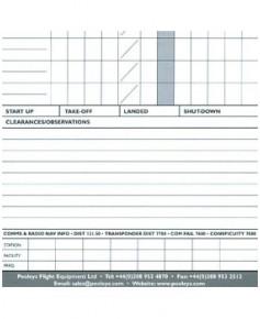 Log de navigation V.F.R. - Format A5 Pooleys