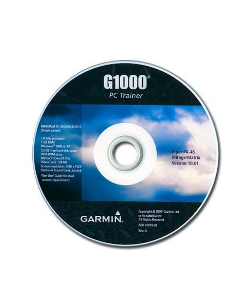 C.D.-ROM Garmin G1000 PC Trainer pour PA46 Mirage
