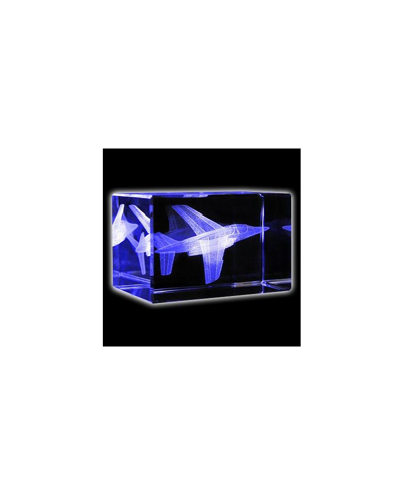 Bloc de verre Alphajet 50x50x80 mm