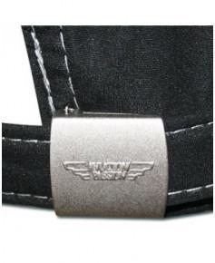 Cap'Aéro microfibre noire - casquette Aviation Passion