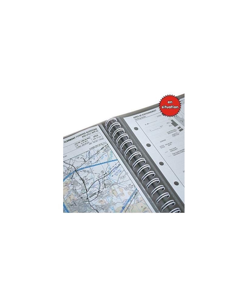Protect'Doc 30 pochettes bleu - Aviation Passion