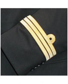 Veste co-pilote / O.P.L. AVEC boucle Nelson et SANS ailes de poitrine - Taille 54