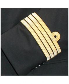 Veste pilote / C.D.B. AVEC boucle Nelson et SANS ailes de poitrine - Taille 54