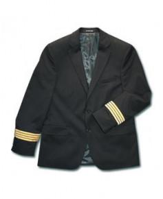 Veste pilote / C.D.B. SANS boucle Nelson et SANS ailes de poitrine - Taille 54