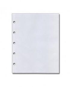 Pochette plastique S.I.A. pour classeur V.A.C. France (5 perforations)