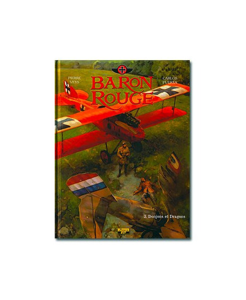 Baron rouge - Tome 3 : Donjons et Dragons
