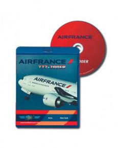 Blu-ray World Air Routes - Air France B777-200 ER