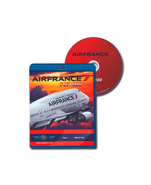Blu-ray World Air Routes - Air France B747-400