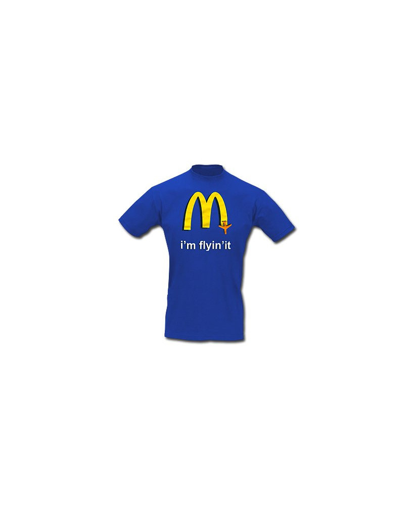 Tee-shirt I'm flyin'it - Taille L
