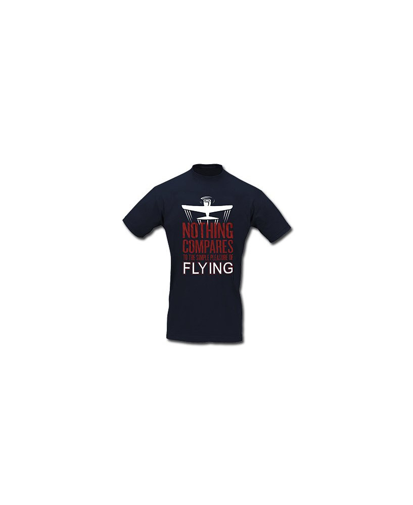 Tee-shirt Nothing compares to the simple pleasure of flying - Taille XL