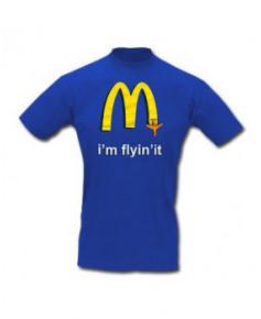 Tee-shirt I'm flyin'it - Taille XL