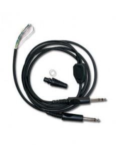 Câble Pilot Comm mono pour casque PA11-20 et PA11-40