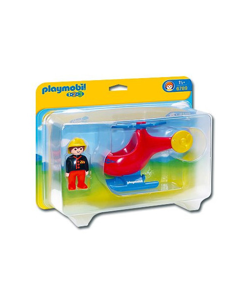 Pompier avec hélicoptère Playmobil®