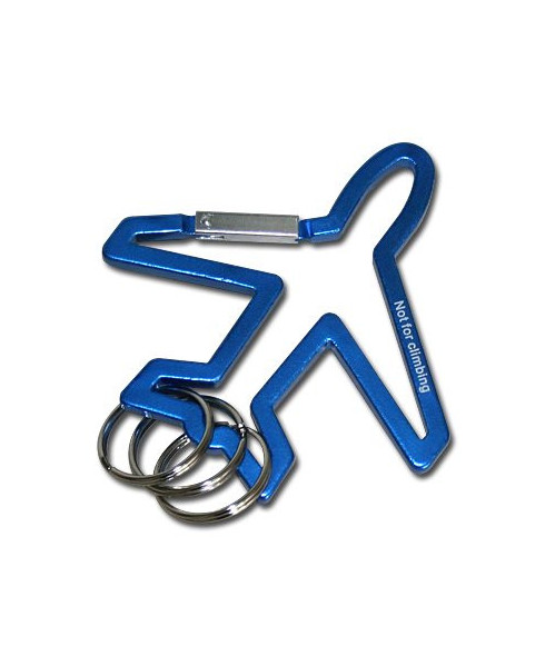 Porte-clés Airbus triple en métal