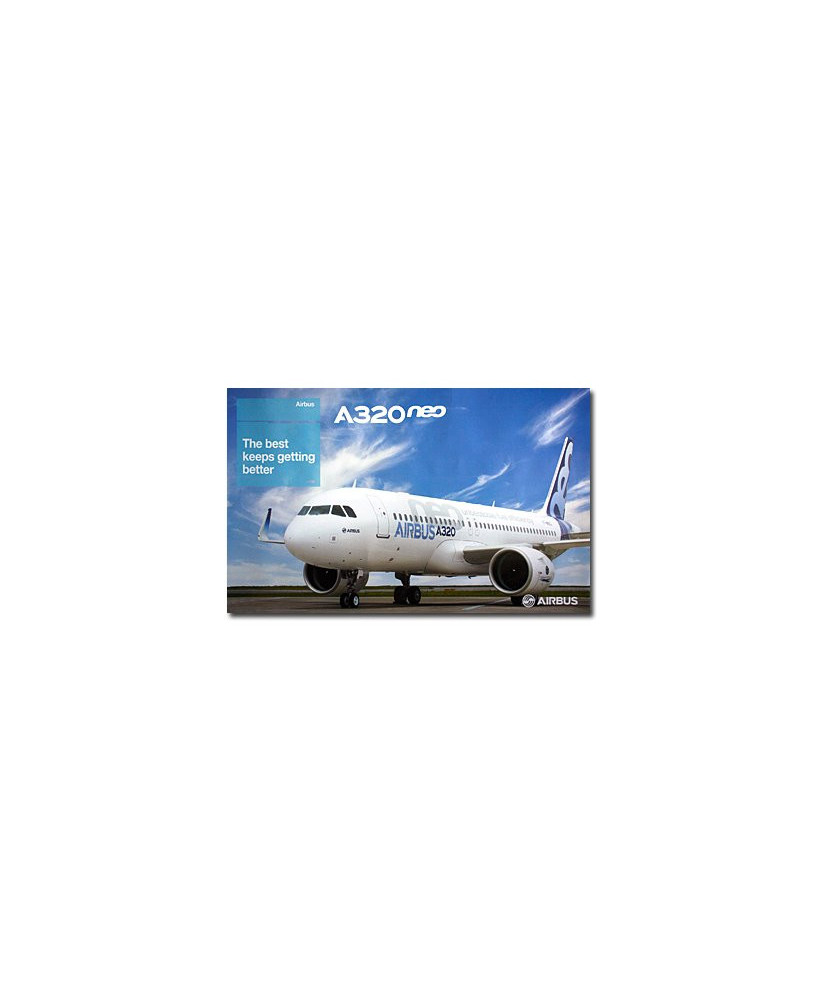 Poster A320neo The best keeps getting better