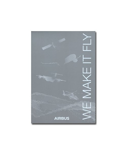 """Bloc-notes Airbus """"We make it fly"""" - Format A5"""