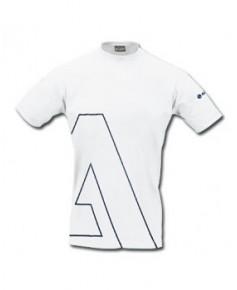 Tee-shirt blanc avec le A d'Airbus - Taille L