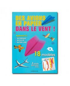 Des avions en papier dans le vent