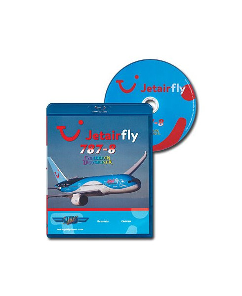 Blu-ray World Air Routes - Jetairfly B787-8