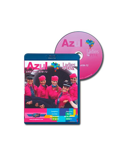 Blu-ray World Air Routes - Azul Ladies in pink
