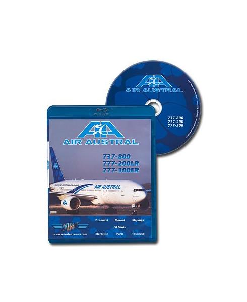 Blu-ray World Air Routes - Air Austral B737 et B777