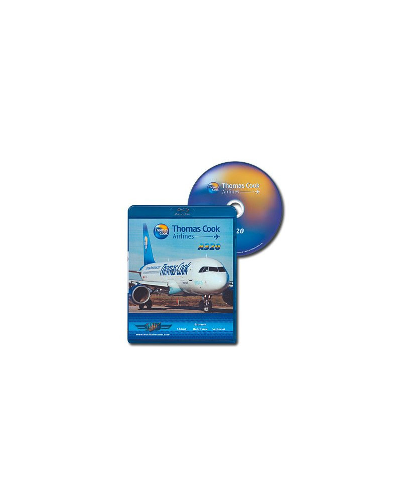 Blu-ray World Air Routes - Thomas Cook A320