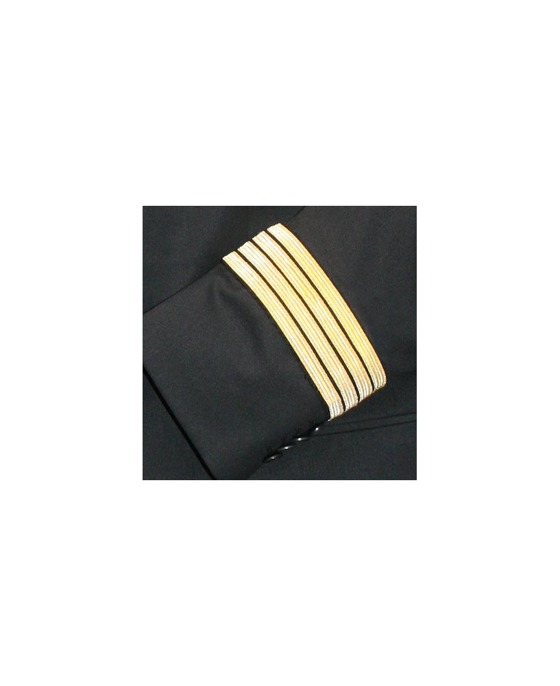 Veste pilote / C.D.B. SANS boucle Nelson et AVEC ailes de poitrine - Taille 52