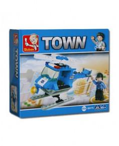 Hélicoptère de police Sluban®