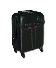 Valise cabine FLIGHT bag rigide noire