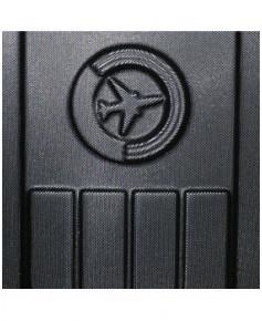 Valise cabine FLIGHT bag rigide noire