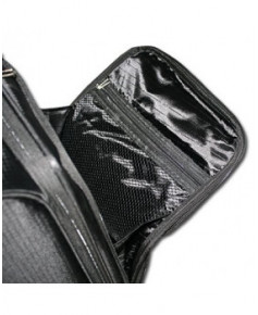 Valise cabine FLIGHT bag souple noire