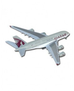 Maquette métal A380 Qatar Airways - 1/500e