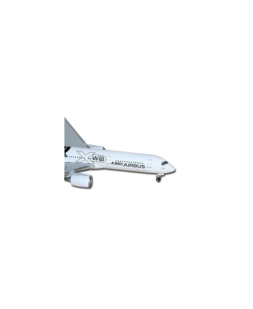 Maquette métal A350 XWB livrée carbone - 1/500e