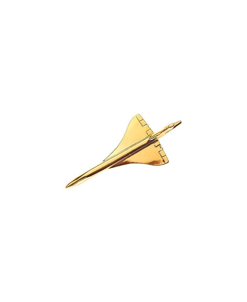 Pin's doré Concorde grand modèle