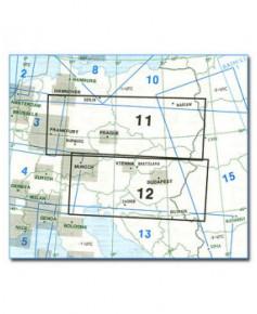Carte Jeppesen Europe En Route basse altitude E(LO) 11/12