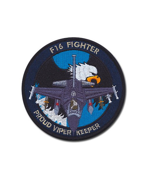"Ecusson ""F16 Proud Viper Keeper"""