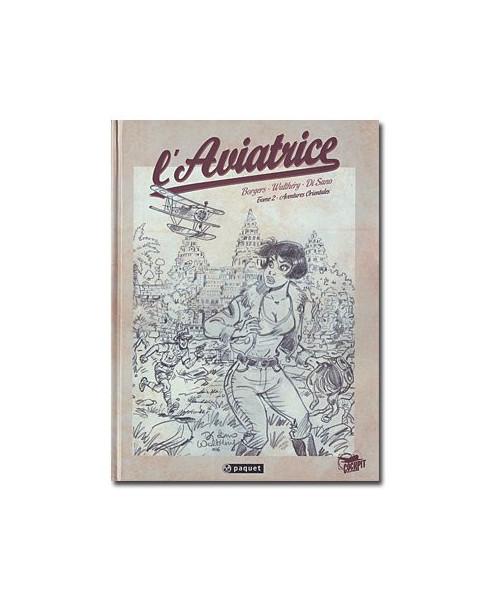 L'Aviatrice - Tome 2 (série spéciale crayonnés)