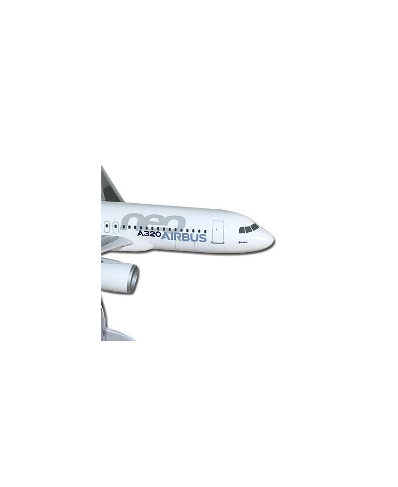 "Maquette ""executive"" Airbus A320neo livrée prototype - 1/100e"