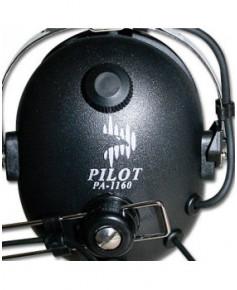 Casque Pilot Comm pour radios ICOM