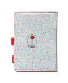 Protège carnet de santé - La rose du Petit Prince