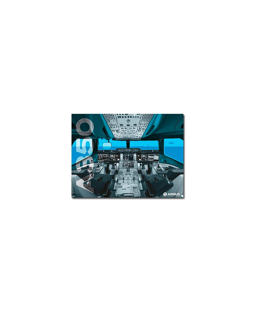 Poster Cockpit A350 XWB