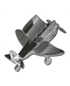Porte-bouteille de vin - forme avion