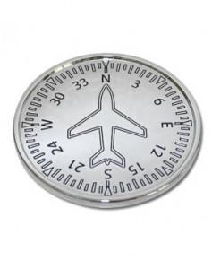 Dessous de verre instruments avion