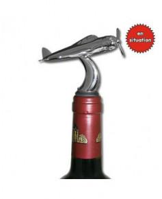 Bouchon de bouteille de vin - forme avion