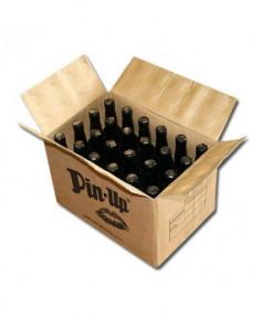 Lot de 24 bouteilles de bière rousse Pin-Up