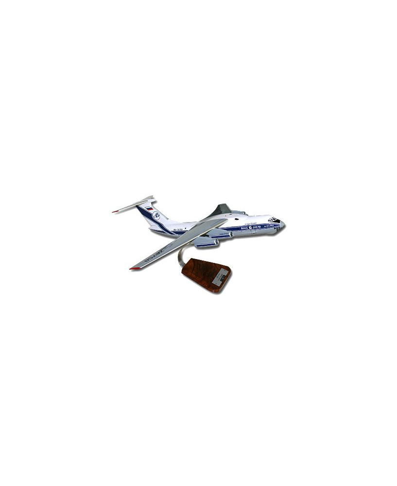 Maquette bois Ilyushin IL-76T Candid - 1/100e