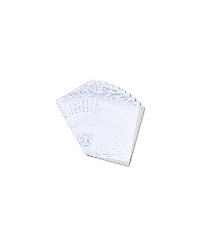 """Lot de 10 pochettes plastiques """"ICE"""" pour planchette Dimatex """"WHAT IF"""""""