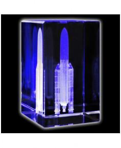 Bloc de verre Ariane 50x50x80 mm