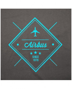 """Tee-shirt Airbus """"Since 1970"""" - Taille L"""