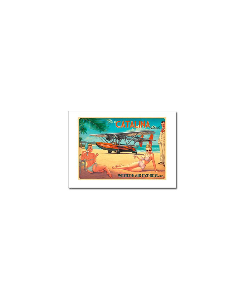 Affiche Catalina Islande - Romain HUGAULT - 70 x 50 cm